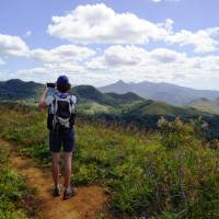 Discover the breathtaking mountain scenery in New Caledonia on foot
