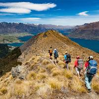 Hiking along the ridge line to the top of Ben Lomond |  <i>Colin Monteath</i>