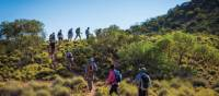 Walking along Central Australia's stunning Larapinta Trail | Graham Michael Freeman