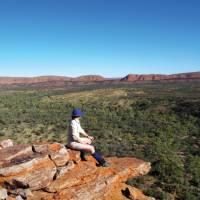 Ridge views on the Larapinta Trail | Latonia Crockett