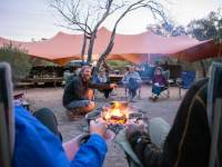 Soak up the sounds of the desert around our campfire |  <i>Shaana McNaught</i>