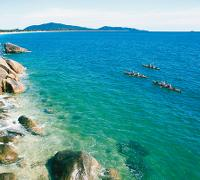 Hinchinbrook Island sea kayaking, Queensland -  Photo: Mark Daffey