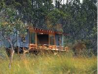 spend your evenings relaxing at Cradle Huts comfortable accommodation |  <i>Tourism Tasmania & Simon Kenny</i>