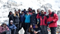 Group on our Everest Base Camp trek |  <i>Luciana Liberoff</i>