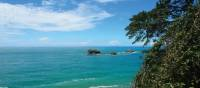 View of the turquoise waters at Manuel Antonio, Costa Rica | Sophie Panton