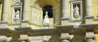 Baroque architecture of Iglesia de la Merced in Antigua
