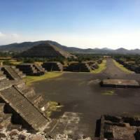 Ruins at Teotihuacan