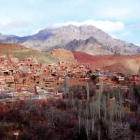 Breathtaking views across the red washed village of Abyaneh | Sue Badyari