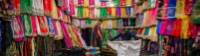 Colourful array of fabrics in Vakil Bazaar |  <i>Richard I'Anson</i>