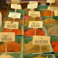 Spice market in Jerusalem