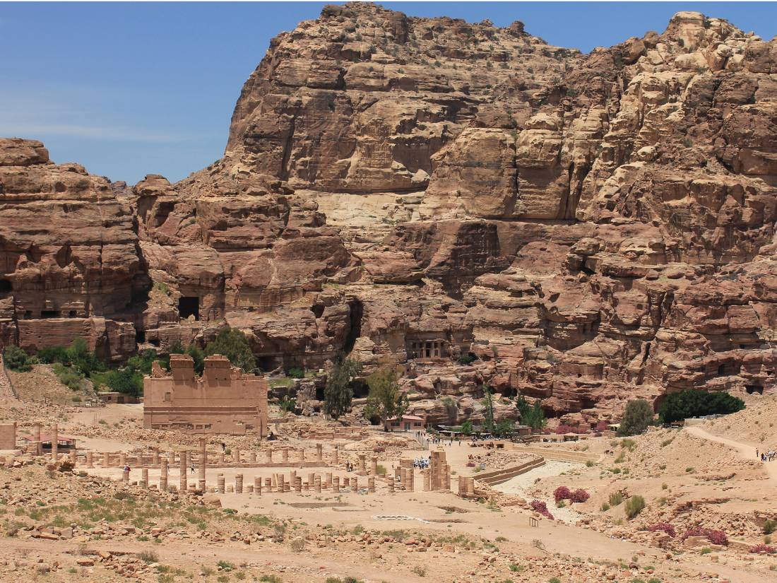Ancient ruins and cliffs of Petra |  <i>Rachel Imber</i>