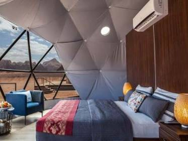 Martian Dome Tent room