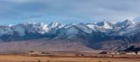 Dramatic scenery on the drive near the Kyrgyzstan border   Rachel Imber