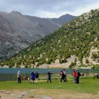 Trekking amongst the lakes of the Fann Mountains   Chris Buykx