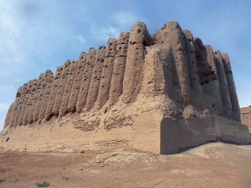 The ruins at Merv, Turkenistan&#160;-&#160;<i>Photo:&#160;Kathy Kostos</i>