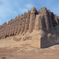 The ruins at Merv, Turkenistan | Kathy Kostos