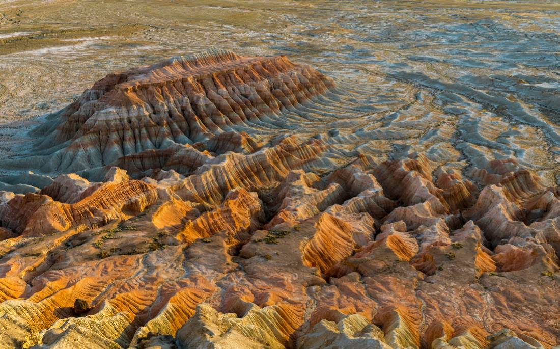 Turkmenistan's Yangykala Canyon at sunset |  <i>Richard I'Anson</i>