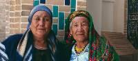 Local women in colourful attire   Karyn Carne