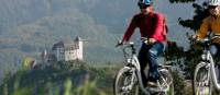 Cycle past medieval castles during your ride in Liechtenstein | Liechtenstein Marketing