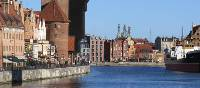 The port city of Gdansk