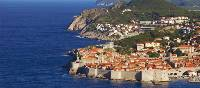 The old city of Dubrovnik and the beautiful island of Lokram