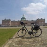 Electric bike in front of Potsdam University, Germany | Brad Atwal