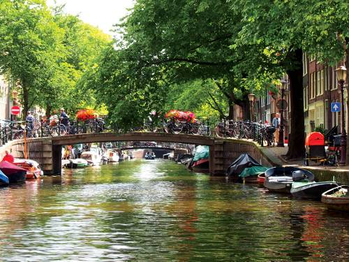 The famous canal views of Amsterdam&#160;-&#160;<i>Photo:&#160;Nick Kostos</i>