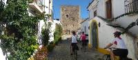 Cycling through villages in the Alentejo region