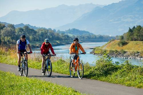 Explore Liechtenstein by bike on one of our Alpine Rhine cycle trips&#160;-&#160;<i>Photo:&#160;Liechtenstein Marketing</i>