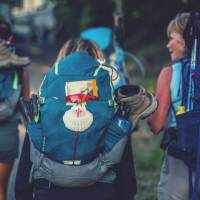 Hikers on the Camino in Spain | @timcharody