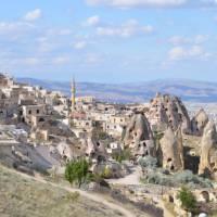A small town in the rocks of Cappadocia | Erin Williams
