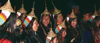 Ladies from the village of Laya, Bhutan | David Marriott