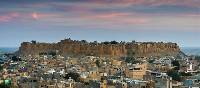 The impressive Jaisalmer Fort at sunset | Richard I'Anson