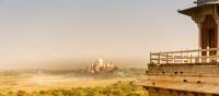 The magestic Taj Mahal