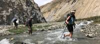 Expect many river crossings when trekking in Ladakh | Brad Atwal