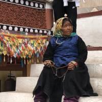 Pilgrim at the Hemis monastery near Leh, Ladakh | Brad Atwal