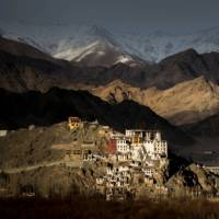 Spiti Monastery with the Ladakh Range towering behind | Richard I'Anson