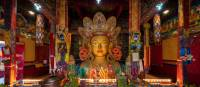 Statue of Maitreya Buddha at Thiksay Monastery | Richard I'Anson