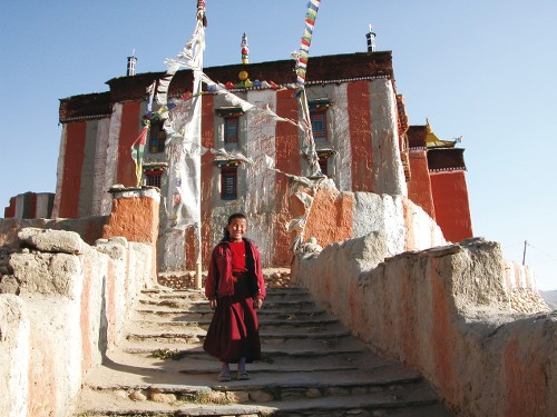 Tibetan Buddhism is prominent in Mustang - <i>Photo: Maria Visconti</i>