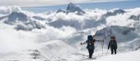 Climbers on Baruntse in Nepal   Annette Skirka
