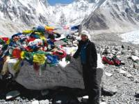 Experiencing the thrill of arriving at Everest Base camp, Nepal |  <i>Amanda Fletcher</i>