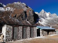 The site of our permanent camp at Machermo in Nepal |  <i>Heike Krumm</i>