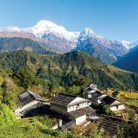 Views from above Ghandruk |  <i>Joe Kennedy</i>