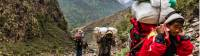 Porters at work in western Nepal |  <i>Lachlan Gardiner</i>
