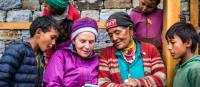 Sharing moments with local villages whilst on an exploratory trek in Nepal | Lachlan Gardiner
