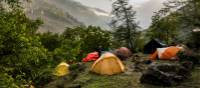 Enjoy clean, tranquil campsites on our wilderness treks across the Himalaya | Lachlan Gardiner