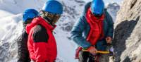 Our experienced leaders will teach you valuable expedition climbing skills   Lachlan Gardiner