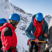 Our experienced leaders will teach you valuable expedition climbing skills | Lachlan Gardiner