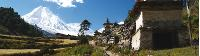Trekking through peaceful villages in Manaslu |  <i>Graham North</i>