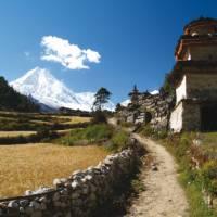 Trekking through peaceful villages in Manaslu | Graham North